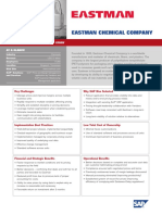 Business Transformation Study Eastman Chemical