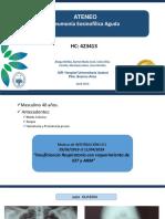 Neumonia Eosinofilica en LIMPIO