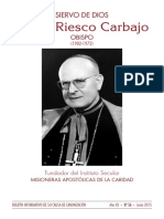 SIERVO DE DIOS ÁNGEL RIESCO CARBAJO