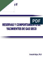 Cap5 Reservas y Comportamientos de Yacimientos de Gas Seco