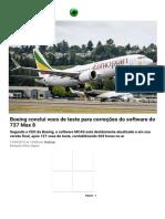Matéria Boeing 787max