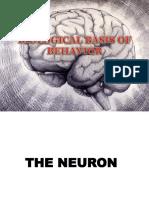 LECTURE 2 Biological Basis of Behavior