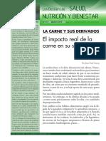LA CARNE Y SUS DERIVADOS. Dossier