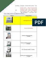 April Price List for Lcd Repair Business -Nancy