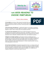 10 Good Reasons for Being a Vegetarian