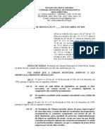 Projeto de Resolução 001-2019 - Mesa - Altera o Regimento