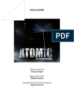 ATOMIC (Vocal Score)