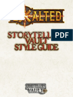 Exalted Style Guide