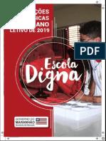 CADERNO ORIENTAÇÕES PEDAGÓGICAS - ANO LETIVO 2019