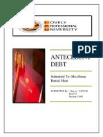 ANTECEDENT DEBT IN HINDU LAW (Autosaved).docx
