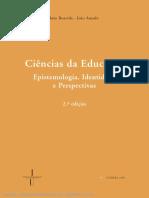 Ciências da Educação (excerto) - João Amado e João Boavida