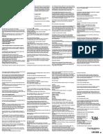 Lamotrigine 50mg Tablets - Summary of Product Characteristics - LEAFLET, Taj Pharma