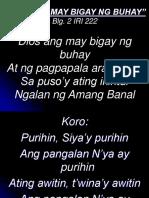 _Diyos Ang May Bigay Ng Buhay
