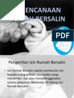PERENCANAAN RUMAH BERSALIN