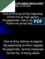 _Diyos at Ama Ng Aming Magulang