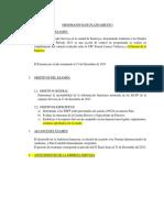 Memorandum de Planeamiento Servosa