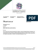PL Transparência