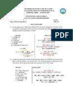 Solucionario II Evaluación Fila b Ca4-1 ; Ca4-3