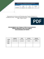OP-In-06-C Proc. Anclaje de Barandas en Viga de Puente v.01