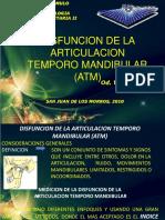 Disfuncion de La Articulacion Temporo Mandibular