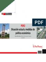 Peru Situacion Actual y Medidas de Politica Economica