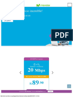 Duo Internet y Teléfono Fijo Movistar