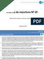 Informe Centro CIFRA CTA N29