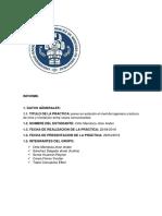 Informe Nivelacion Simple