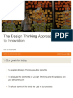 The Design Thinking Approach to Innovation_23.10.09