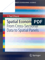 Spatial Econometrics Cross-Sectional Data to Spatial Panels [Book] (Elhorst 2014).pdf