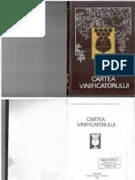 Cartea Vinificatorului - Sîrghi C.D., Balanuţă a.P. Chişinău, Editura Uniunii Scriitorilor, 1992