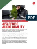 Apx Audio Fact Sheet Final