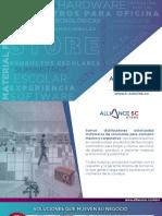 Brochure Servicios AllianceSC Store 30-03-2019
