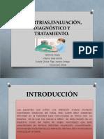 Disartrias,Evaluación,Diagnostico y Tratamiento