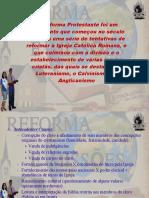 Reforma Protestante-eliziana e Napoliao