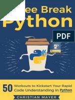 [smtebooks.eu] Coffee Break Python 1st Edition.Pdf