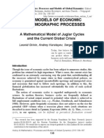 A Mathematical Model of Juglar Cycles and the Current Global Crisis