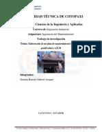 Informe de Analisis de Tiempos Empresa Floricola