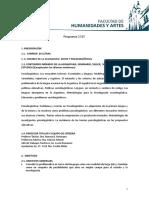 Socio y Pisco PROGRAMA 2015