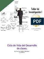 Sesión 01 - Taller de Investigación I en Ingenieria Civil