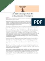 47. Las Implicancias Prácticas Del Apalancamiento en La Empresa Sep 2013
