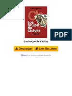 9807709016 Los Brujos de Chvez by David Placer