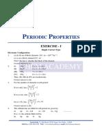 Periodic Properties Solution