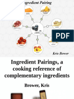 Ingredient Pairings - A Cooking Reference of Complementary Ingredients - Kris Bowers