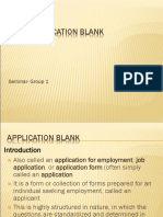 Seminar Slides HRM Application Blanks Group 1