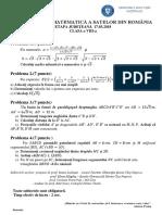 Subiect OSR2018 Judeteana - Clasa 8