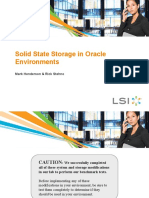 Solid State Storage in Oracle