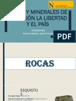 Rocas y Minerales de La Región La Libertad