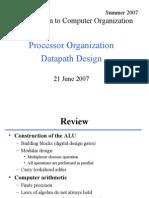 Su L17 Processor Datapath