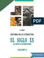 El siglo XX la nueva literatura - Eduardo Lánez.pdf